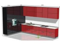 """4300-2500-2-isb<br>Для расчета цены подобной кухни укажите код этой кухни в заявке в графе """"Доп. информация"""" <a class=""""kuhni-foto-link"""" title=""""Расчет кухни онлайн"""" href=""""http://dobrotno.com.ua/zakazat-dizayn-kuhni"""" target=""""_blank""""> Рассчитать кухню</a>"""