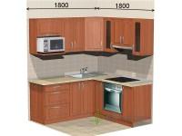 """1800-1800-2-svv<br>Для расчета цены подобной кухни укажите код этой кухни в заявке в графе """"Доп. информация"""" <a class=""""kuhni-foto-link"""" title=""""Расчет кухни онлайн"""" href=""""http://dobrotno.com.ua/zakazat-dizayn-kuhni"""" target=""""_blank""""> Рассчитать кухню</a>"""