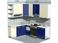 """2300-1700-1-svv<br>Для расчета цены подобной кухни укажите код этой кухни в заявке в графе """"Доп. информация"""" <a class=""""kuhni-foto-link"""" title=""""Расчет кухни онлайн"""" href=""""http://dobrotno.com.ua/zakazat-dizayn-kuhni"""" target=""""_blank""""> Рассчитать кухню</a>"""