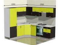 """2500-2200-1-svv<br>Для расчета цены подобной кухни укажите код этой кухни в заявке в графе """"Доп. информация"""" <a class=""""kuhni-foto-link"""" title=""""Расчет кухни онлайн"""" href=""""http://dobrotno.com.ua/zakazat-dizayn-kuhni"""" target=""""_blank""""> Рассчитать кухню</a>"""