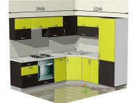 """2500-2200-2-svv<br>Для расчета цены подобной кухни укажите код этой кухни в заявке в графе """"Доп. информация"""" <a class=""""kuhni-foto-link"""" title=""""Расчет кухни онлайн"""" href=""""http://dobrotno.com.ua/zakazat-dizayn-kuhni"""" target=""""_blank""""> Рассчитать кухню</a>"""