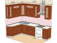 """2700-1800-1-svv<br>Для расчета цены подобной кухни укажите код этой кухни в заявке в графе """"Доп. информация"""" <a class=""""kuhni-foto-link"""" title=""""Расчет кухни онлайн"""" href=""""http://dobrotno.com.ua/zakazat-dizayn-kuhni"""" target=""""_blank""""> Рассчитать кухню</a>"""