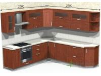 """2700-2500-1-svv<br>Для расчета цены подобной кухни укажите код этой кухни в заявке в графе """"Доп. информация"""" <a class=""""kuhni-foto-link"""" title=""""Расчет кухни онлайн"""" href=""""http://dobrotno.com.ua/zakazat-dizayn-kuhni"""" target=""""_blank""""> Рассчитать кухню</a>"""