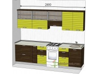 """2800-600-1-svv<br>Для расчета цены подобной кухни укажите код этой кухни в заявке в графе """"Доп. информация"""" <a class=""""kuhni-foto-link"""" title=""""Расчет кухни онлайн"""" href=""""http://dobrotno.com.ua/zakazat-dizayn-kuhni"""" target=""""_blank""""> Рассчитать кухню</a>"""