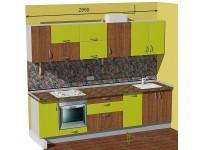 """2950-600-1-svv<br>Для расчета цены подобной кухни укажите код этой кухни в заявке в графе """"Доп. информация"""" <a class=""""kuhni-foto-link"""" title=""""Расчет кухни онлайн"""" href=""""http://dobrotno.com.ua/zakazat-dizayn-kuhni"""" target=""""_blank""""> Рассчитать кухню</a>"""