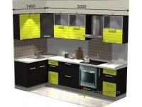 """3000-1400-1-svv<br>Для расчета цены подобной кухни укажите код этой кухни в заявке в графе """"Доп. информация"""" <a class=""""kuhni-foto-link"""" title=""""Расчет кухни онлайн"""" href=""""http://dobrotno.com.ua/zakazat-dizayn-kuhni"""" target=""""_blank""""> Рассчитать кухню</a>"""