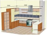 """3000-2900-2-svv<br>Для расчета цены подобной кухни укажите код этой кухни в заявке в графе """"Доп. информация"""" <a class=""""kuhni-foto-link"""" title=""""Расчет кухни онлайн"""" href=""""http://dobrotno.com.ua/zakazat-dizayn-kuhni"""" target=""""_blank""""> Рассчитать кухню</a>"""