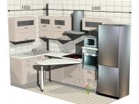 """3300-1500-1-svv<br>Для расчета цены подобной кухни укажите код этой кухни в заявке в графе """"Доп. информация"""" <a class=""""kuhni-foto-link"""" title=""""Расчет кухни онлайн"""" href=""""http://dobrotno.com.ua/zakazat-dizayn-kuhni"""" target=""""_blank""""> Рассчитать кухню</a>"""