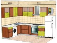 """3300-2300-1-svv<br>Для расчета цены подобной кухни укажите код этой кухни в заявке в графе """"Доп. информация"""" <a class=""""kuhni-foto-link"""" title=""""Расчет кухни онлайн"""" href=""""http://dobrotno.com.ua/zakazat-dizayn-kuhni"""" target=""""_blank""""> Рассчитать кухню</a>"""