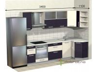 """3400-1100-2-svv<br>Для расчета цены подобной кухни укажите код этой кухни в заявке в графе """"Доп. информация"""" <a class=""""kuhni-foto-link"""" title=""""Расчет кухни онлайн"""" href=""""http://dobrotno.com.ua/zakazat-dizayn-kuhni"""" target=""""_blank""""> Рассчитать кухню</a>"""