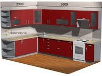 """3600-2300-1-svv<br>Для расчета цены подобной кухни укажите код этой кухни в заявке в графе """"Доп. информация"""" <a class=""""kuhni-foto-link"""" title=""""Расчет кухни онлайн"""" href=""""http://dobrotno.com.ua/zakazat-dizayn-kuhni"""" target=""""_blank""""> Рассчитать кухню</a>"""