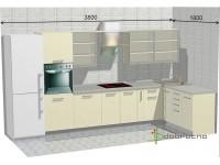 """3800-1800-2-svv<br>Для расчета цены подобной кухни укажите код этой кухни в заявке в графе """"Доп. информация"""" <a class=""""kuhni-foto-link"""" title=""""Расчет кухни онлайн"""" href=""""http://dobrotno.com.ua/zakazat-dizayn-kuhni"""" target=""""_blank""""> Рассчитать кухню</a>"""