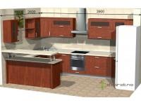 """3900-2600-2-svv<br>Для расчета цены подобной кухни укажите код этой кухни в заявке в графе """"Доп. информация"""" <a class=""""kuhni-foto-link"""" title=""""Расчет кухни онлайн"""" href=""""http://dobrotno.com.ua/zakazat-dizayn-kuhni"""" target=""""_blank""""> Рассчитать кухню</a>"""