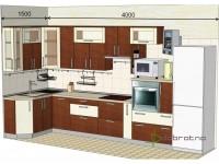 """4000-1500-1-svv<br>Для расчета цены подобной кухни укажите код этой кухни в заявке в графе """"Доп. информация"""" <a class=""""kuhni-foto-link"""" title=""""Расчет кухни онлайн"""" href=""""http://dobrotno.com.ua/zakazat-dizayn-kuhni"""" target=""""_blank""""> Рассчитать кухню</a>"""