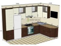 """3550-2100-1-vak<br>Для расчета цены подобной кухни укажите код этой кухни в заявке в графе """"Доп. информация"""" <a class=""""kuhni-foto-link"""" title=""""Расчет кухни онлайн"""" href=""""http://dobrotno.com.ua/zakazat-dizayn-kuhni"""" target=""""_blank""""> Рассчитать кухню</a>"""