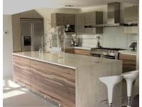 Кухни в стиле модерн из пластика HPL