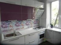 Кухня на заказ с фасадами из МДФ с пластиком HPL а алюминиевом Т-образном профиле