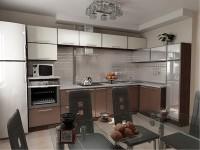 Расположение элементов кухонной мебели