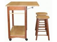 Передвижной сервировочный и обеденный стол - 8