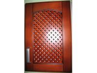 деревянный фасад из липы - решетка (сетка)