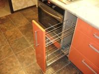 furn-mel4 - 2-х уровневое хромированное карго 200 возле духовки