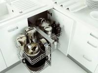 furn-mel7 - волшебный уголок - Magic corner для обеспечения максимального использования пространства угловой тумбы на кухне