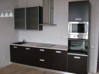 """Кухня - kit_0002 - Кухня в современном стиле, фасады выполнены из мдф, покрытого шпоном, цвет фасадов - """"Венге"""". Размер 3000х600<br>Для расчета цены подобной кухни укажите код этой кухни в заявке в графе """"Доп. информация"""" <a class=""""kuhni-foto-link"""" title=""""Расчет кухни онлайн"""" href=""""http://dobrotno.com.ua/zakazat-dizayn-kuhni"""" target=""""_blank""""> Рассчитать кухню</a>"""