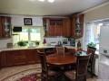 Кухня с фасадами из дерева (ясень) kder-0184