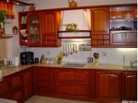"""Кухня из дерева - kit-1119<br>Для расчета цены подобной кухни укажите код этой кухни в заявке в графе """"Доп. информация"""" <a class=""""kuhni-foto-link"""" title=""""Расчет кухни онлайн"""" href=""""http://dobrotno.com.ua/zakazat-dizayn-kuhni"""" target=""""_blank""""> Рассчитать кухню</a>"""