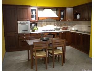 Кухня с фасадами из дерева kder-1191-1