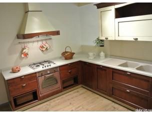 Кухня с фасадами из дерева kder-1203-1