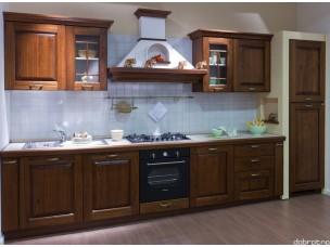Кухня с фасадами из дерева kder-1237
