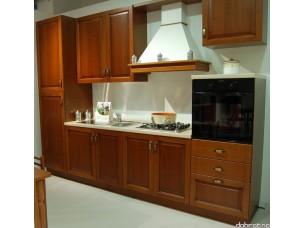 Кухня с фасадами из дерева kder-1238