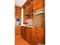 """Кухня из дерева - kit-1357<br>Для расчета цены подобной кухни укажите код этой кухни в заявке в графе """"Доп. информация"""" <a class=""""kuhni-foto-link"""" title=""""Расчет кухни онлайн"""" href=""""http://dobrotno.com.ua/zakazat-dizayn-kuhni"""" target=""""_blank""""> Рассчитать кухню</a>"""