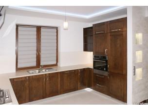 Кухня с фасадами из дерева kder-1439-1