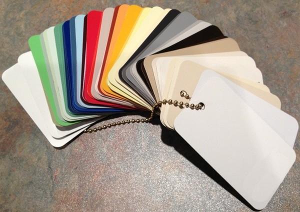 Монохромные цвета пластиков