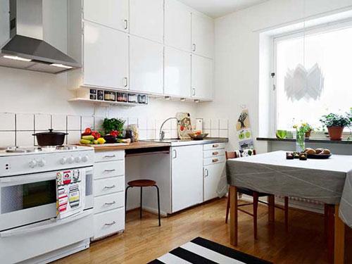 Двухуровневые верхние шкафчики для кухни